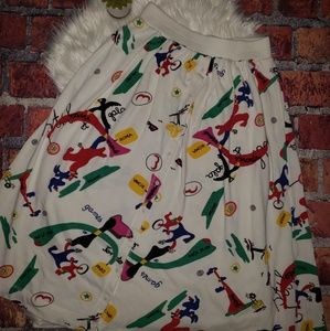 Vintage Olympic Games Skirt